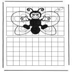 Ofícios - Desenhando a borboleta