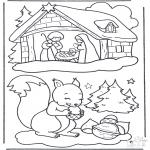 Inverno - Desenho de Natal