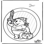 Tema - Dia das bruxas - Imagem de Janela 1