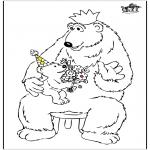 Tema - Dia dos Pais - Urso