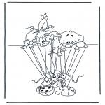 Personagens de banda desenhada - Diddl 28