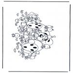Personagens de banda desenhada - Diddl 32
