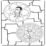 Pinturas Mandala - Dois mandalas 7
