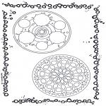 Pinturas Mandala - Dois mandalas 9