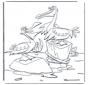 Dois pelicanos