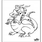 Animais - Dragão 6