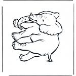 Animais - Elefante 5