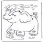 Elefante chupa água