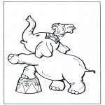 Todos os tipos de - Elefante do circo