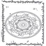 Pinturas Mandala - Elefante mandala
