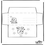 Ofícios - Envelope - Bebé