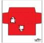 Envelope - Boneco de neve