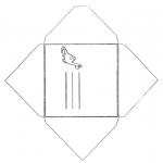 Ofícios - Envelope dinossauro