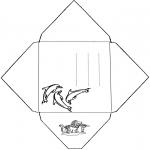 Ofícios - Envelope golfinho