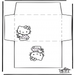 Ofícios - Envelope - Hello Kitty