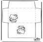 Envelope - Hello Kitty