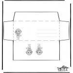 Ofícios - Envelope - Menina