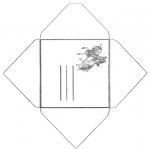 Ofícios - Envelope unicórnio