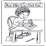 Crianças - Escrevendo