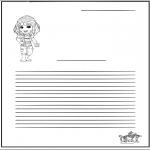 Ofícios - Escrita - Menina
