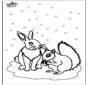 Esquilo e Coelho