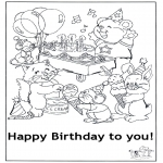 Tema - Feliz aniversário 6