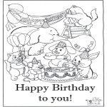 Tema - Feliz aniversário 8