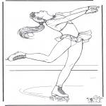 Inverno - Figura a fazer skate 3