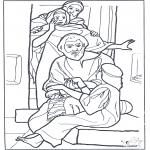 Pinturas bibel - Filha do oficial 3