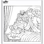 Pinturas bibel - Filha do oficial 4