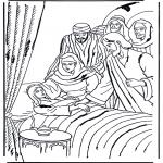 Pinturas bibel - Filha do oficial