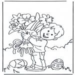 Tema - Flores com Páscoa