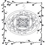 Pinturas Mandala - Flores mandala 6
