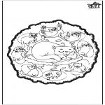 Pinturas Mandala - Gatos - Mandala