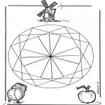 Pinturas Mandala - Geo mandala  2