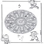 Pinturas Mandala - Geo Mandala