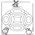 Pinturas Mandala - Geomandala 4