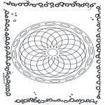 Pinturas Mandala - Geomandala 5