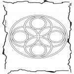 Pinturas Mandala - Geomandala 6