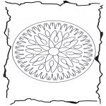 Pinturas Mandala - Geomandala 7