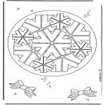 Pinturas Mandala - Geomandala 8