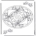 Pinturas Mandala - Geomandala 9