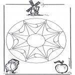 Pinturas Mandala - Geomandela 2
