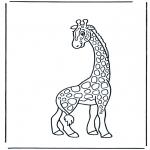 Animais - Girafa 2