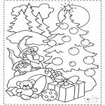 Natal - Gnomos e árvore de Natal