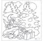 Gnomos e árvore de Natal