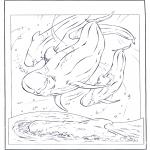 Animais - Golfinho branco