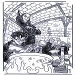 Personagens de banda desenhada - Harry potter 3