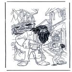 Personagens de banda desenhada - Harry Potter 7