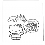 Personagens de banda desenhada - hello kitty 11
